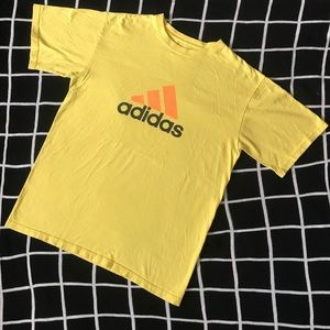 Yellow Adidas t-shirt